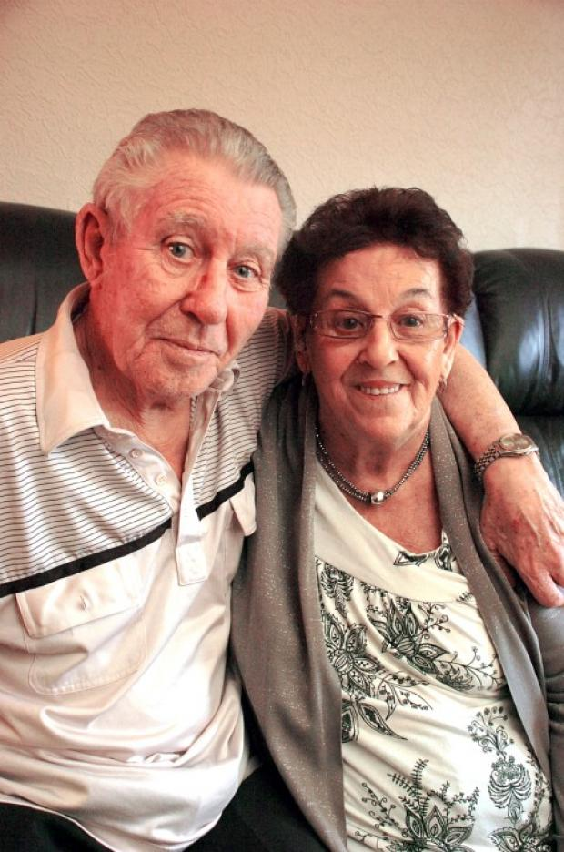 Ann and Joseph Thormley celebrate 60 years of wedded bliss