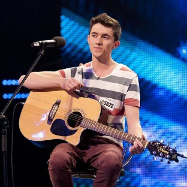 Ryan O'Shaughnessy is competing in the Britain's Got Talent final