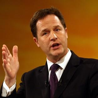 Nick Clegg has said he has never supported the compensated no-fault dismissal scheme
