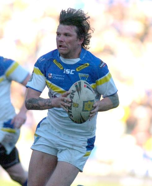 Lee Briers cannot wait to get back on the pitch and get stuck in against Widnes