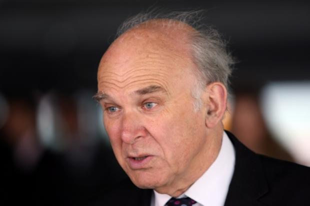 Warrington Guardian: Vince Cable was in Southampton to open a new £7.5m car terminal at the port