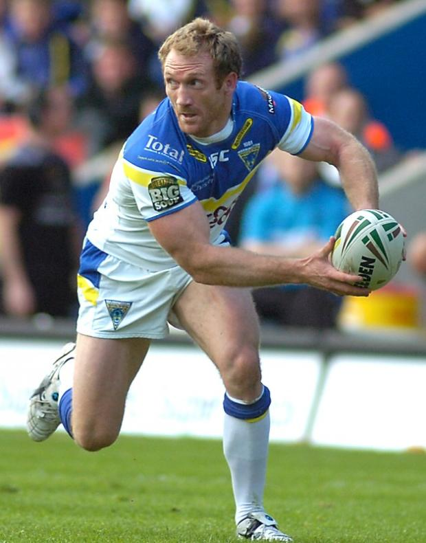 Michael Monaghan made his Super League return after 12 weeks on the sidelines. Pictures by Mike Boden