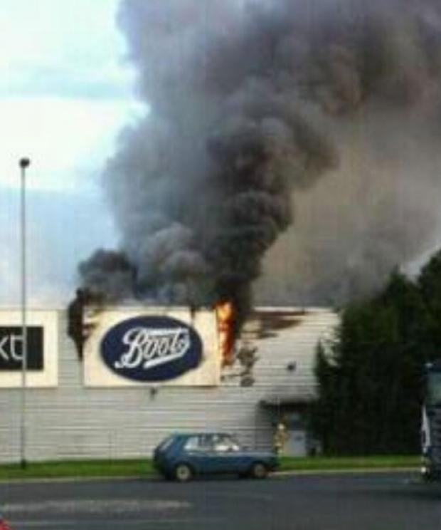 Gemini Retail Park fire caused by electrical fault