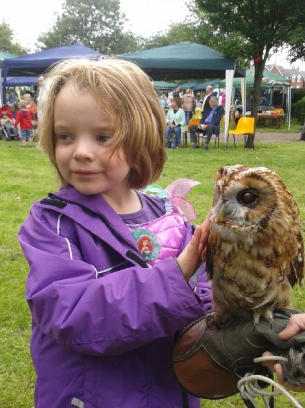 Owl's about that at Howley Carnival