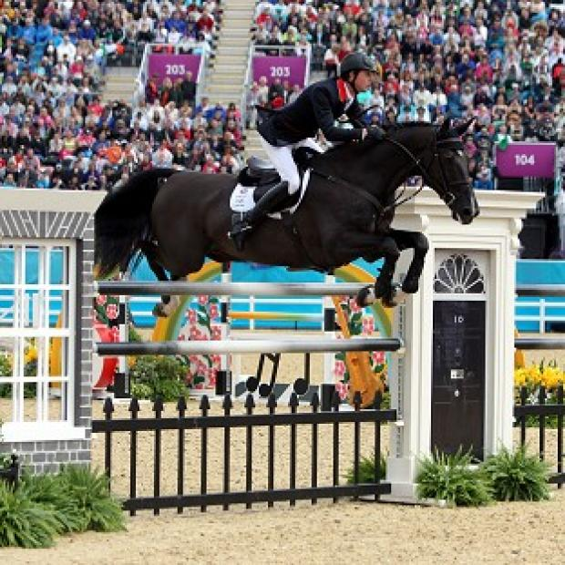 Nick Skelton and Ben Maher, pictured, put in an impressive performance in the showjumping
