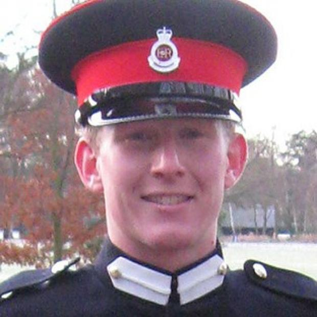 Lieutenant Andrew Robert Chesterman was shot dead in Helmand Province, Afghanistan, on Thursday (MoD/Crown Copyright/PA)