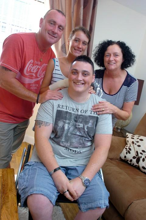 Former soldier settles into home fit for a hero
