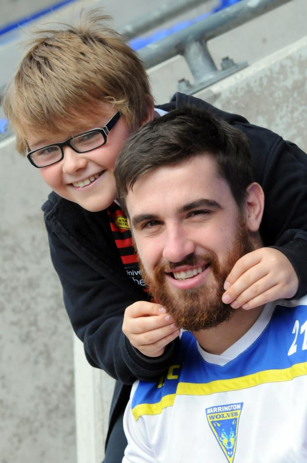 Henry with Tyrone McCarthy