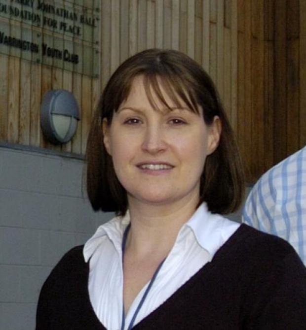 Chief executive Clare White