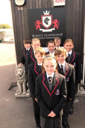 Pupils at King's Leadership Academy