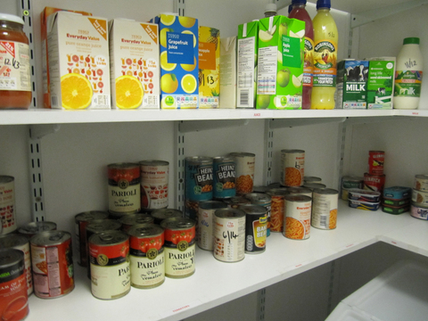 Foodbank launches in town