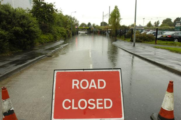 Police and fire service issue flood warning