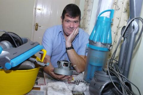 Peter Roberts was turned away from collecting his vacuum motor after a Royal Mail mistake