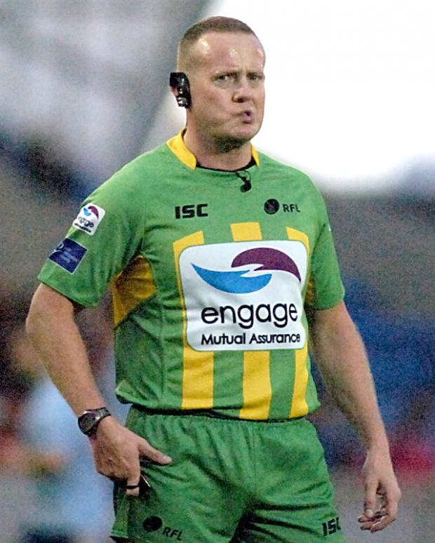 Richard Silverwood will referee Saturday's Grand Final between Wolves and Rhinos