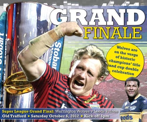 Souvenir 12-page Grand Final pull-out in this week's Warrington Guardian