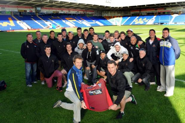 The South Sydney Rabbitohs second team at The Halliwell Jones Stadium