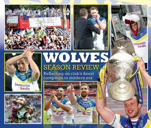 Warrington Wolves review of the year souvenir keepsake in this week's Warrington Guardian