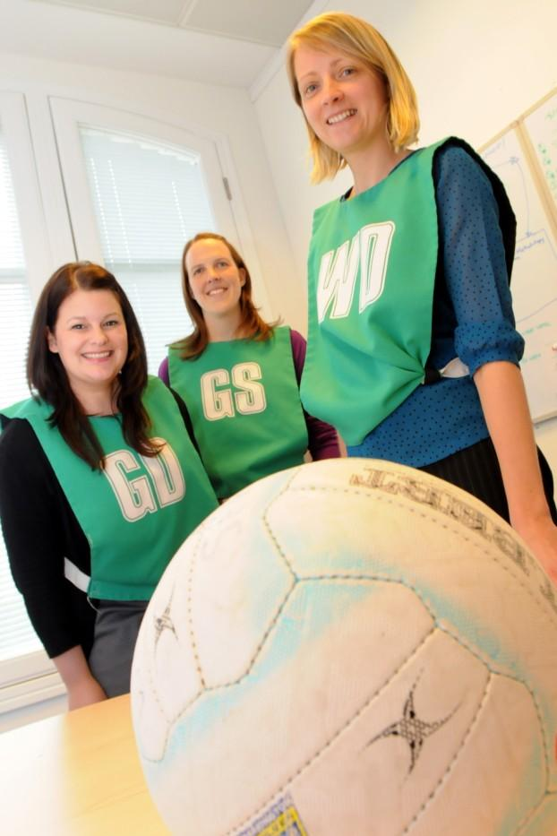 Women get back to netball