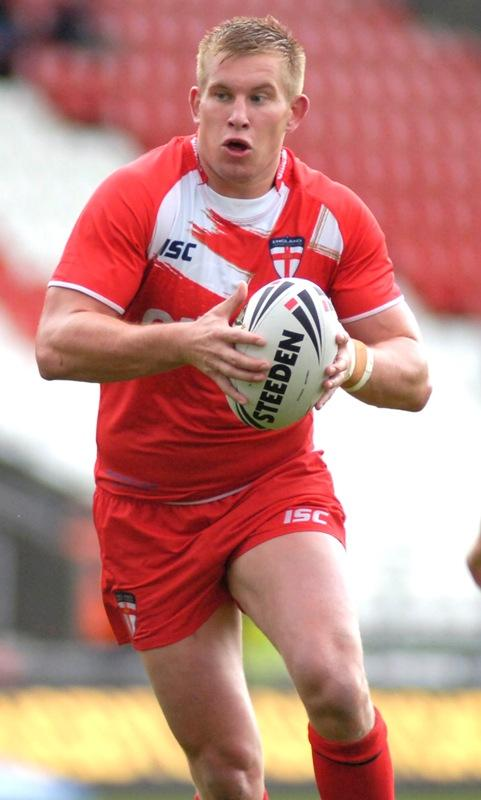 Mike Cooper was named England Knights' man of the match for his performance at loose forward