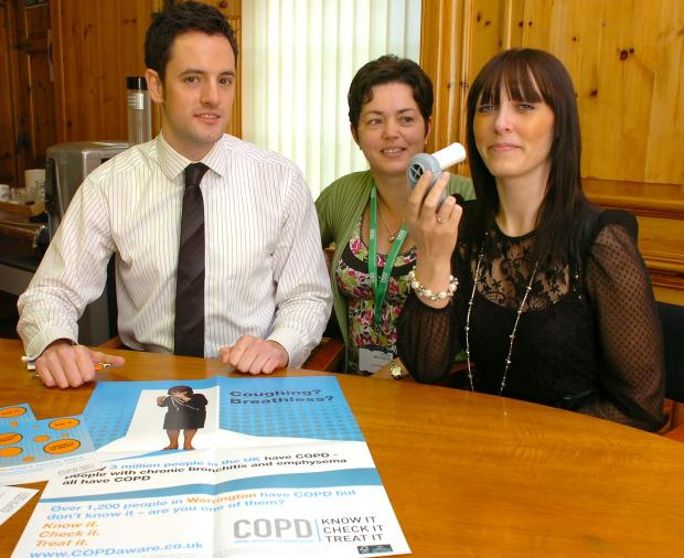 Lung disease campaign comes to Guardian offices