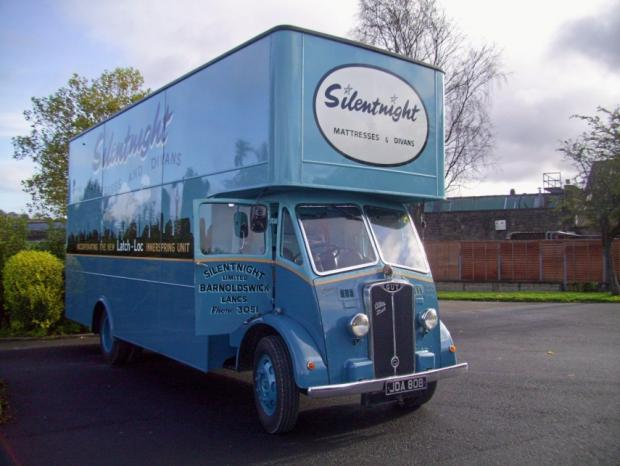 The Silentnight Truck goes under the hammer today