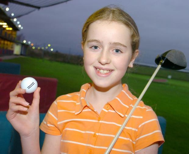 Bethany Hatcher became the first female junior to win a senior competition at Sutton Hall golf club