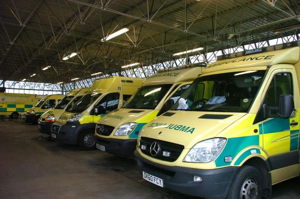 Union bosses hit out at ambulance cuts in Warrington
