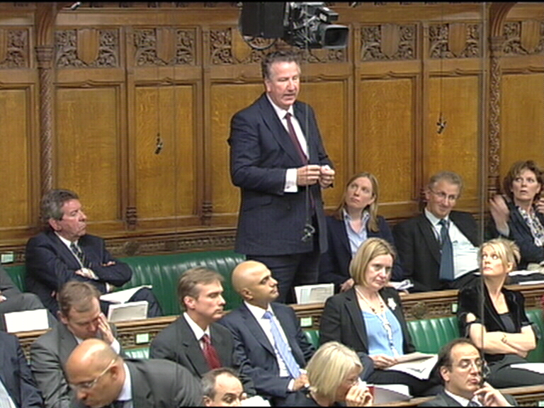 David Mowat speaking in the House of Commons