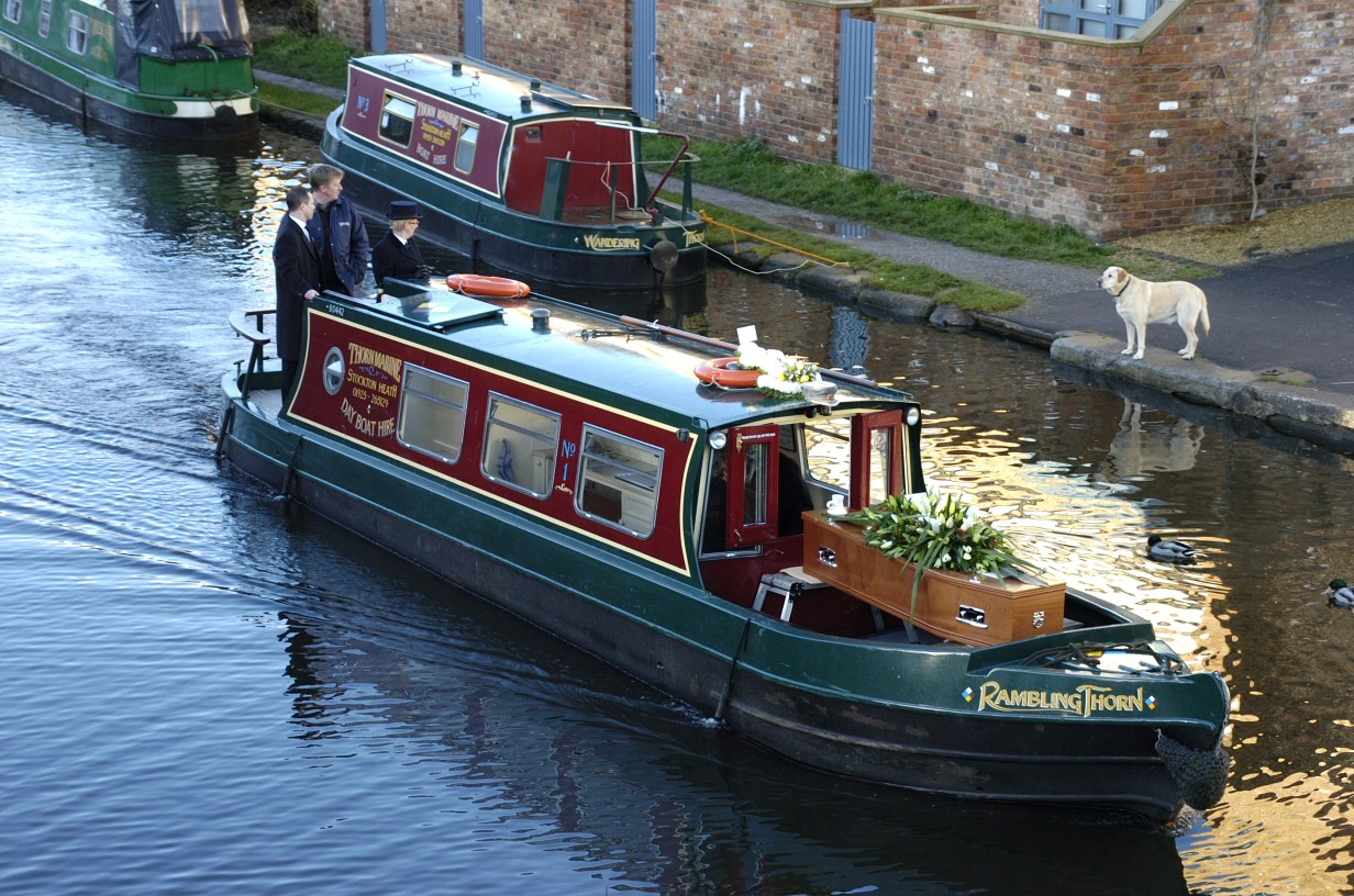 Final canal trip made dream come true for boating enthusiast