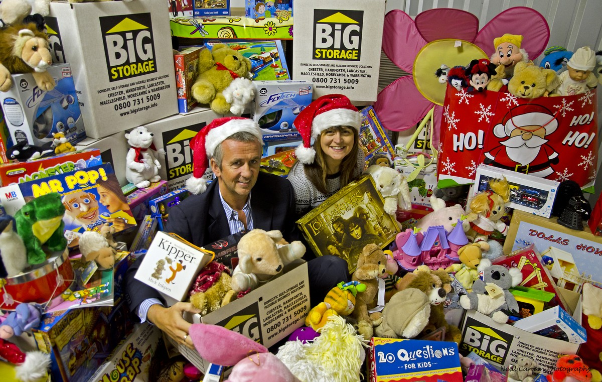 Thanks for toy appeal donations