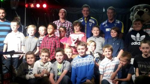 Rylands Sharks under eights presentation night