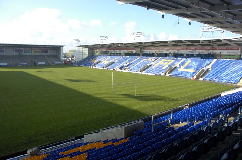 Wolves' Halliwell Jones Stadium will host some high-profile games in 2013