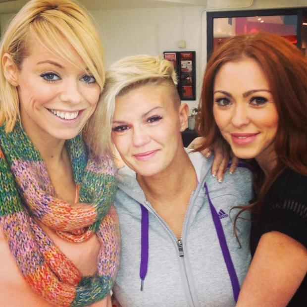 Warrington Guardian: Kerry and her bandmates Natasha Hamilton and Liz McClarnon