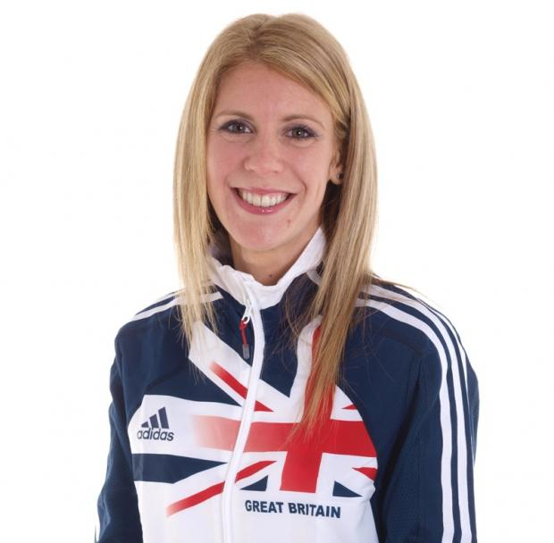 Katie Brough realised her dream of running for Great Britain last week