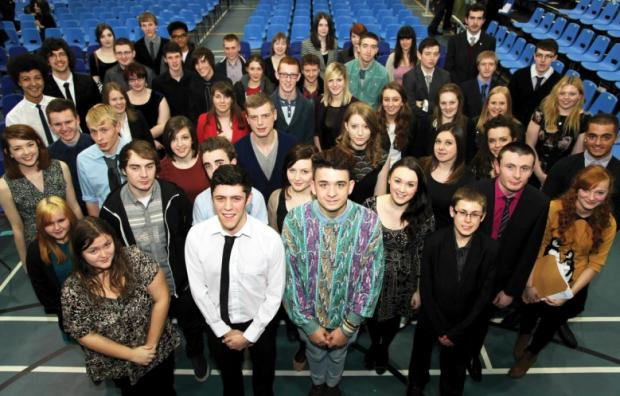 The award winners at Priestley College