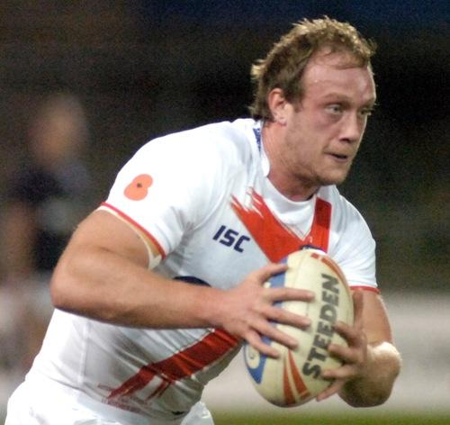 Chris Hill during his debut England campaign last autumn