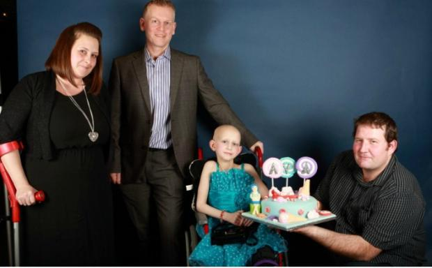 Inspirational angel Ava is honoured