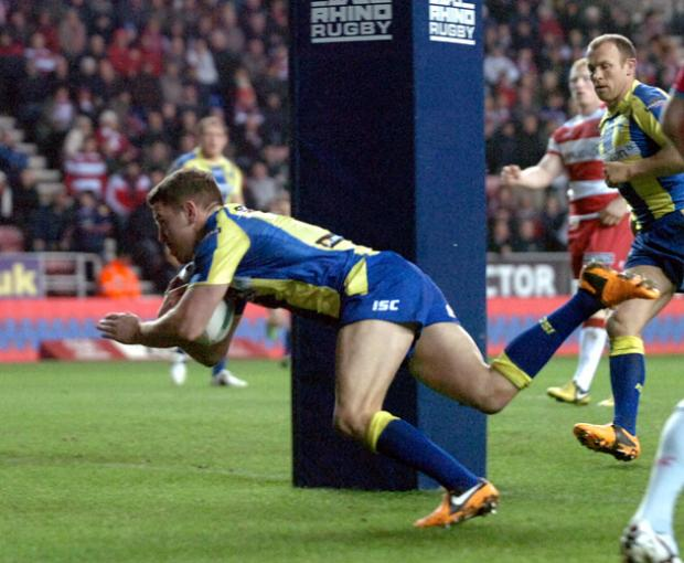 Richie Myler's second half try was worthy of praise from Wolves' head of coaching and rugby