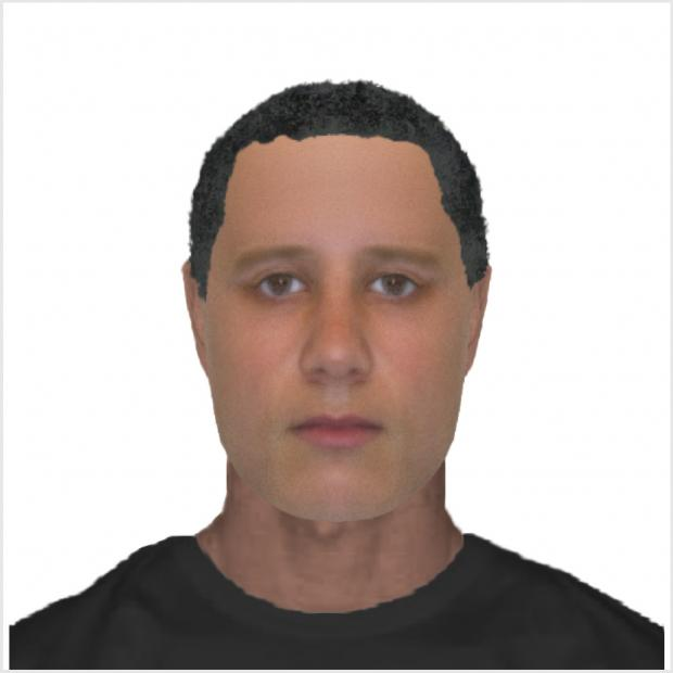 Warrington Guardian: An e-fit of the suspect