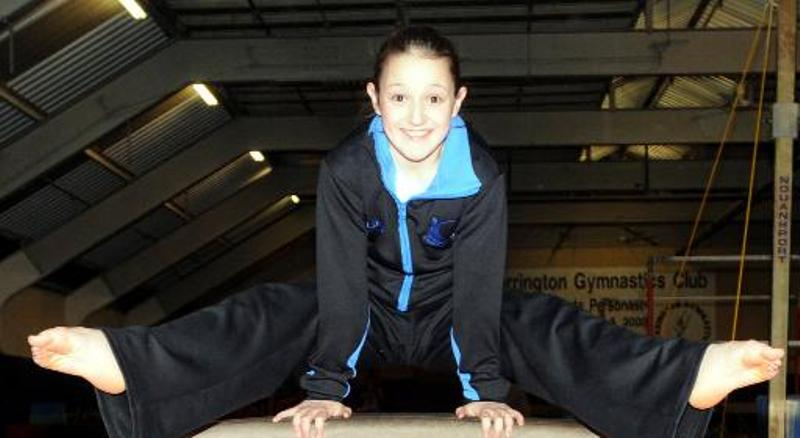 Lucy Costello will train with Great Britain's tumbling team n