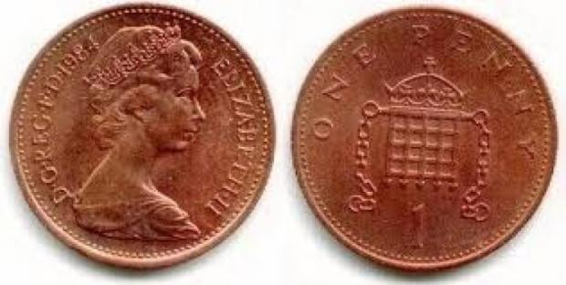 Warrington Guardian: The One Penny Coin