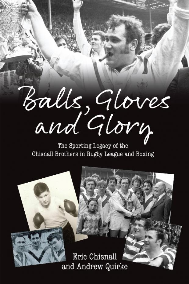 Chisnall brothers in Balls, Gloves and Glory