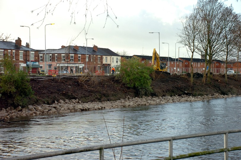 Warrington Green Party call on flood defence rethink