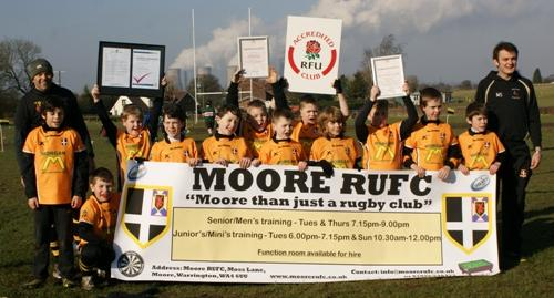 Club accreditation for Moore