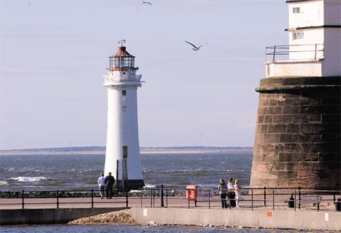New Brighton's Perch Rock lighthouse features in best-of-Wirral film