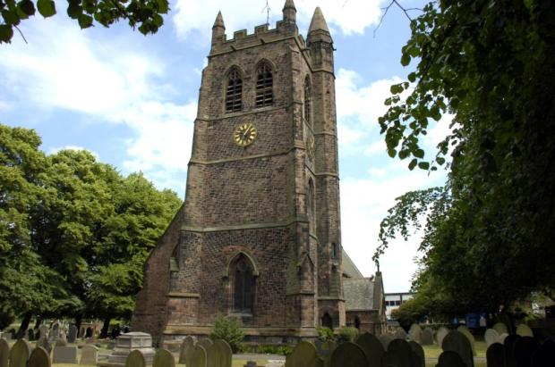 St Thomas' Church in Stockton Heath