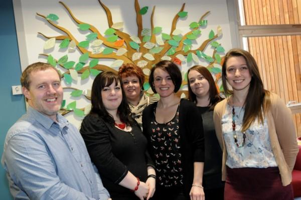 Staff from victims work and prevention work teams
