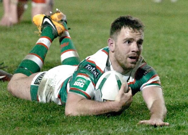 Myler was influential against his former club Salford, scoring two tries and having a hand in several others