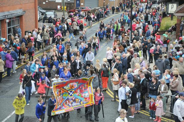 Road closures announced for Warrington Walking Day