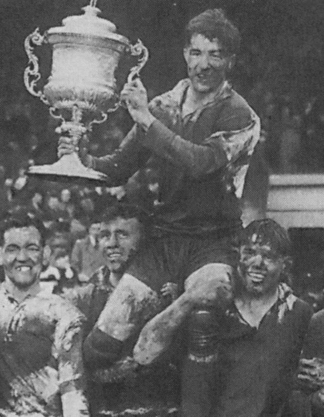 Albert Naughton, the last Warrington Wolves player to lift the Championship